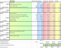 diet spreadsheet diet spreadsheet gameplanet forums fitness health