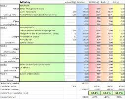 diet spreadsheet diet spreadsheet gameplanet forums fitness health