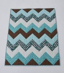 Grey and White Chevron Baby Quilt w/just a hint of by Ennzone ... & Grey and White Chevron Baby Quilt w/just a hint of by Ennzone | Diy |  Pinterest | Chevron baby quilts, Machine quilting and Babies Adamdwight.com