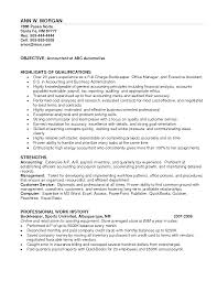 Sample Resume For Bookkeeper Accounts Receivable Clerk Resume