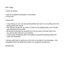 Speeding Ticket Appeal Letter Template Or Parking Ticket