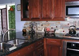 kitchen backsplash cherry cabinets black counter. Backsplash With Cherry Cabinets Beautiful Kitchen White Counter Ideas Black T