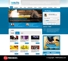 website templates download free designs fm blog free psd template download download psd