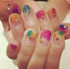 夏のカラフルネイル Niki Nail Blog Mili Hairniki Hairnail