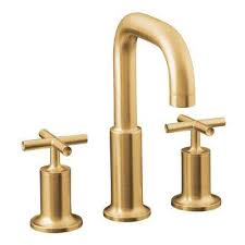 widespread deck mount 2 handle mid arc bathroom faucet trim