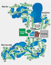 Miccosukee Golf & Country Club Course Layout & Map | Miami, FL