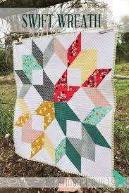 1721 best Quilts and Quilting images on Pinterest | Couple room ... & Simple and Easy Modern THROW Quilt PDF Pattern Swift Wreath on Etsy, $8.65 Adamdwight.com