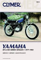 yamaha motorcycle manuals diy repair manuals clymer yamaha dt mx series singles motorcycle 1977 1983 service repair manual