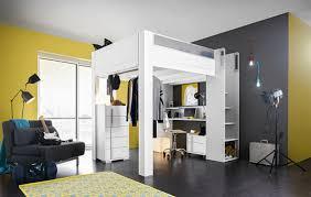 lit haut mezzanine gautier chambre lit celio loft