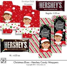 Resources for making special occasion candy bar wrappers. Elf Christmas Candy Bar Wrappers Printables By Gina Jane Clip Art