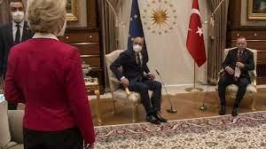 Sofagate': Brussels angry over von der Leyen Turkey chair snub - France 24