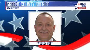 Wesley Holt elected sheriff of Greene County