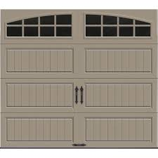 desert garage doorClopay Gallery Collection 8 ft x 7 ft 184 RValue Intellicore
