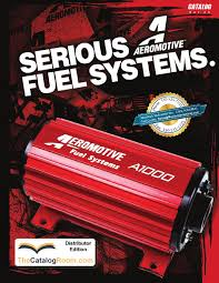 Aeromotive Fuel Pump Systems Catalog Stealth Plumbingmonkey