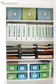 Organized Office Closet Small Space Organizing With A Cloffice