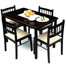 black dining table 4 chairs 4 chair dining table awesome unique 4 chair dining table set