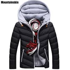 whole moutainskin 4xl winter parkas men s jacket casual hooded coats for men down cotton jacket male coats thick brand clothing sa152 clothing junior