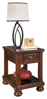 Image Desk Porter Chairside End Table Ashley Furniture Homestore End And Side Tables Ashley Furniture Homestore