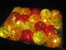 ball fairy lights. image is loading 20-sunset-wicker-rattan-ball-battery-operated-led- ball fairy lights