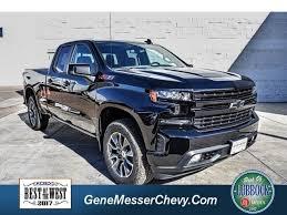 New Chevrolet Silverado 1500 (Black) For Sale Near Lubbock TX