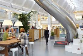 google company head office. Popular: Lego Is Another Company To Have Installed A Slide In Its Vibrant Working Space Google Head Office