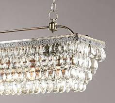 crystal drop chandelier scroll to next item clarissa crystal drop petite round chandelier