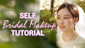 korean wedding makeup self bridal makeup tutorial wishtrend you