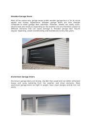 garage door typesAll us doors advantages and disadvantages of garage lift door types