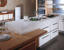 image of clean white caesarstone countertops