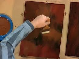 Wood Stain Painting Techniques How To Create A Faux Mahogany Finish How Tos Diy