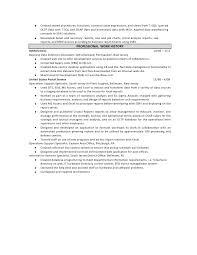 sample resume obiee developer
