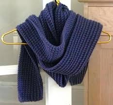 Ribbed Scarf Pattern Mesmerizing Chunky Ribbed Scarf Craftsy