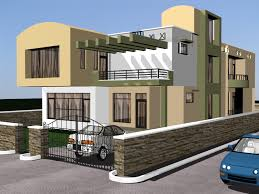 Bhk Home Design Indian Flat Roof Villa Beautiful Indian House - Interior design houses pictures