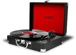 Купить <b>виниловый проигрыватель iOn Vinyl</b> Motion (Black) в ...