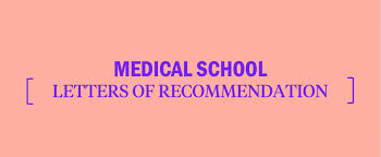 Med School Requirements Who Should Write Letters Of