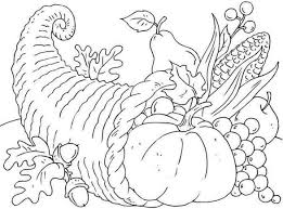 Thanksgiving Printable Coloring Pages Free - FunyColoring