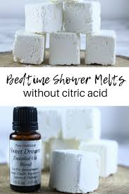 how to make a shower melt without citric acid this bedtime shower melt recipe is