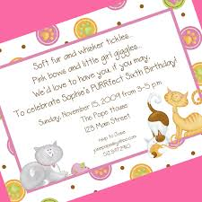 cat birthday party invitation invitations and envelopes 128270zoom