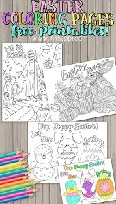Easter Coloring Pages Free Printables Inkhappi