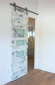 frosted barn door glass sliding surprising with inside designs 0