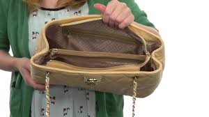 DKNY Gansevoort - Quilted Nappa Shopper w/ Chain Handle SKU ... & DKNY Gansevoort - Quilted Nappa Shopper w/ Chain Handle SKU:8513955 Adamdwight.com