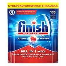 <b>Таблетки</b> для посудомоечных машин <b>FINISH</b> All in 1 ...