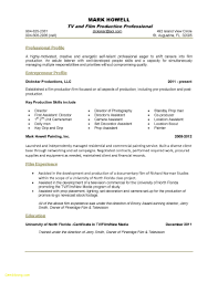 22 Media Resume Templates Free Sample Resume