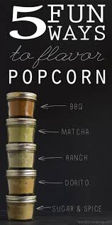 5 fun ways to flavor popcorn plus a gift for popcorn