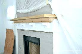 diy fireplace mantel mantel diy floating fireplace mantel shelf