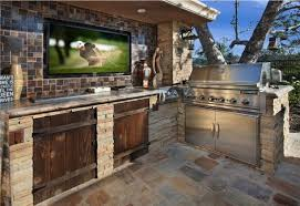 outdoor kitchen for the sportsman