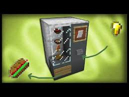 How To Make Vending Machine In Minecraft Pe Classy Minecraft How To Make A Working Vending Machine YouTube