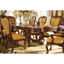 AICO Palais Royale Rectangular Dining Table Only In Rococo Cognac - Aico dining room set