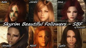 Skyrim Hair Style Mod tes v skyrim mods skyrim beautiful followers sbf youtube 3726 by wearticles.com