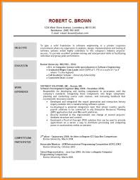 8 Objective Resume Examples Emails Sample